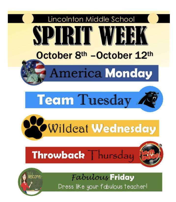 Christmas Spirit Week Ideas School.Lincolnton Middle School Homepage