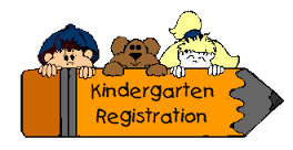 Registration for children entering kindergarten will begin on Monday, February 13, 2017 and will con