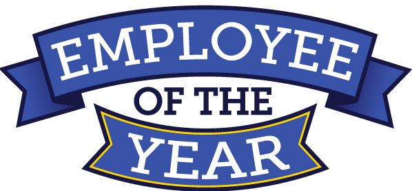 Employee of the year banner