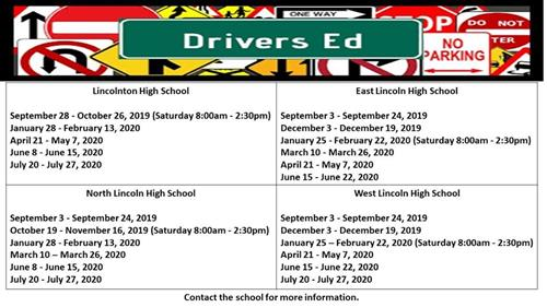 Drivers Ed Dates