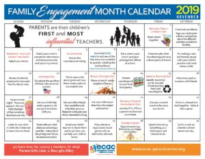 November is Family Engagement Month!