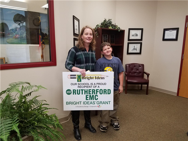 Mrs. Rumfelt wins a Bright Ideas grant