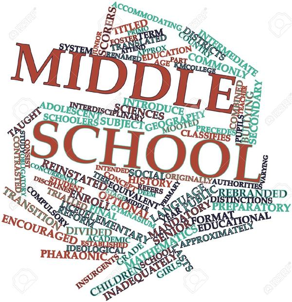 Middle School Information for Rising 6th Graders