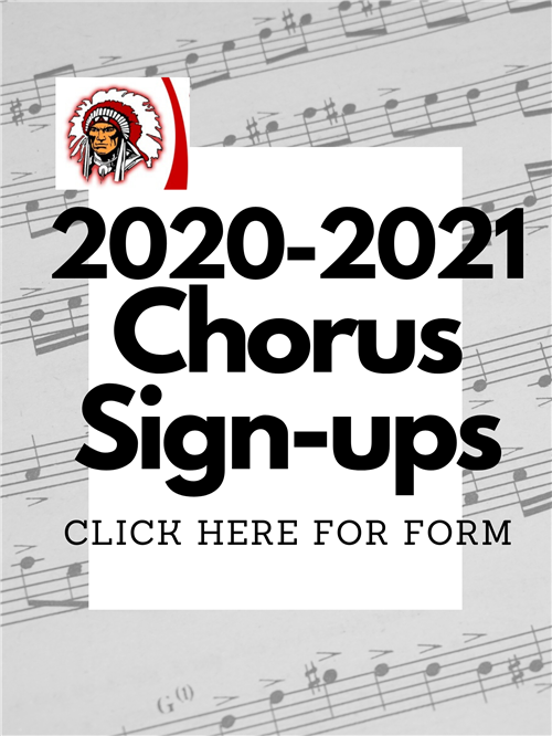 Click Here to access Chorus sign up form