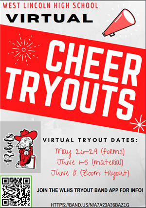 WLHS Cheer Tryouts 2020