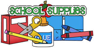2020-2021 School Supply List now availalbe!