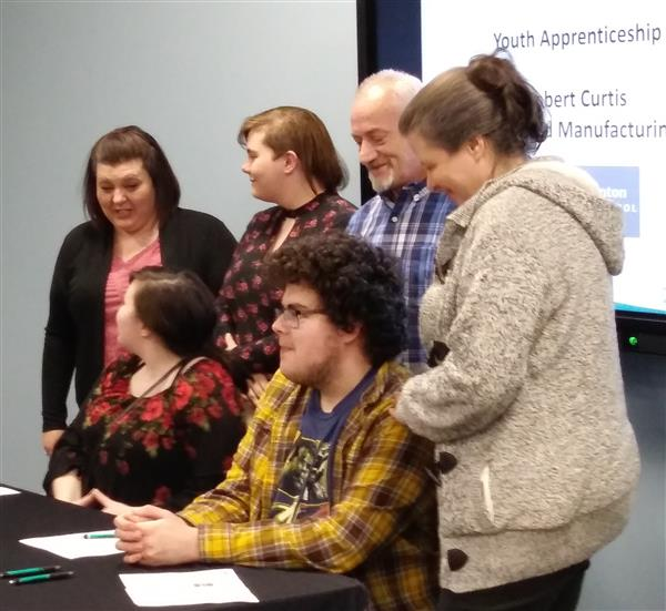 Apprenticeship 321 Signing Day for R.C.