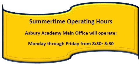 Summertime Operating Hours