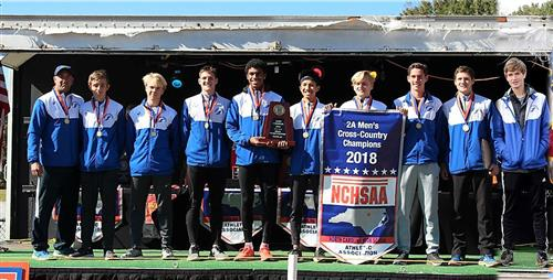 2018 Cross Country State Champions