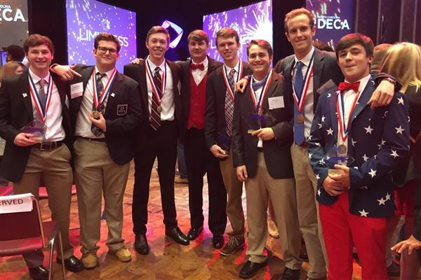 North Lincoln High School Students Compete in State DECA Competition
