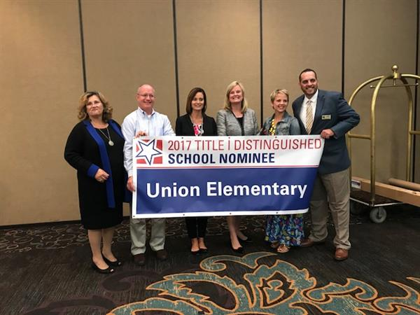 Union Elementary Recognized as a Nominee for the Title I National Distinguished Schools Award