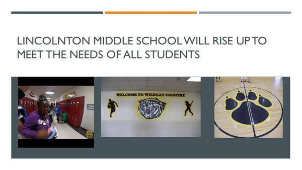 Lincolnton Middle Wildcats RISE UP