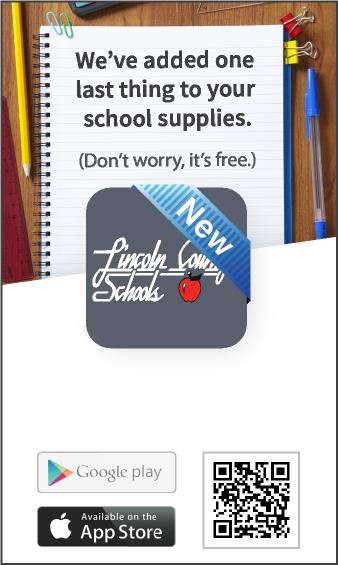 Lincoln County Schools has a New App