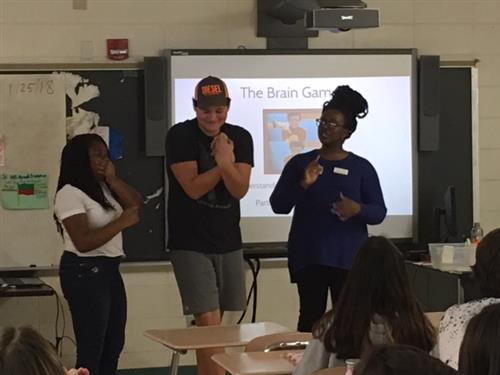 "Poe Center Presents ""For the Health of It"" to Students at East Lincoln Middle School"