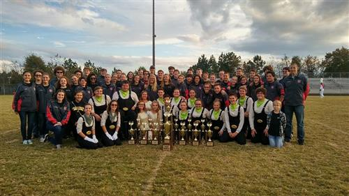 West Lincoln Marching Rebels Awarded Title of Grand Champion at the Foard Band Classic in 2A Competition