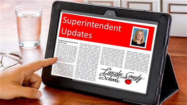 COVID-19 Updates from Dr. Lory Morrow, Superintendent